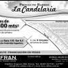 Lotes en Venta - La Candelaria - Ruta 193 km 9.5 intersección con Antártida Argentina  (VENTA)